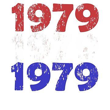 1979 Distressed Year Design by jacoolda