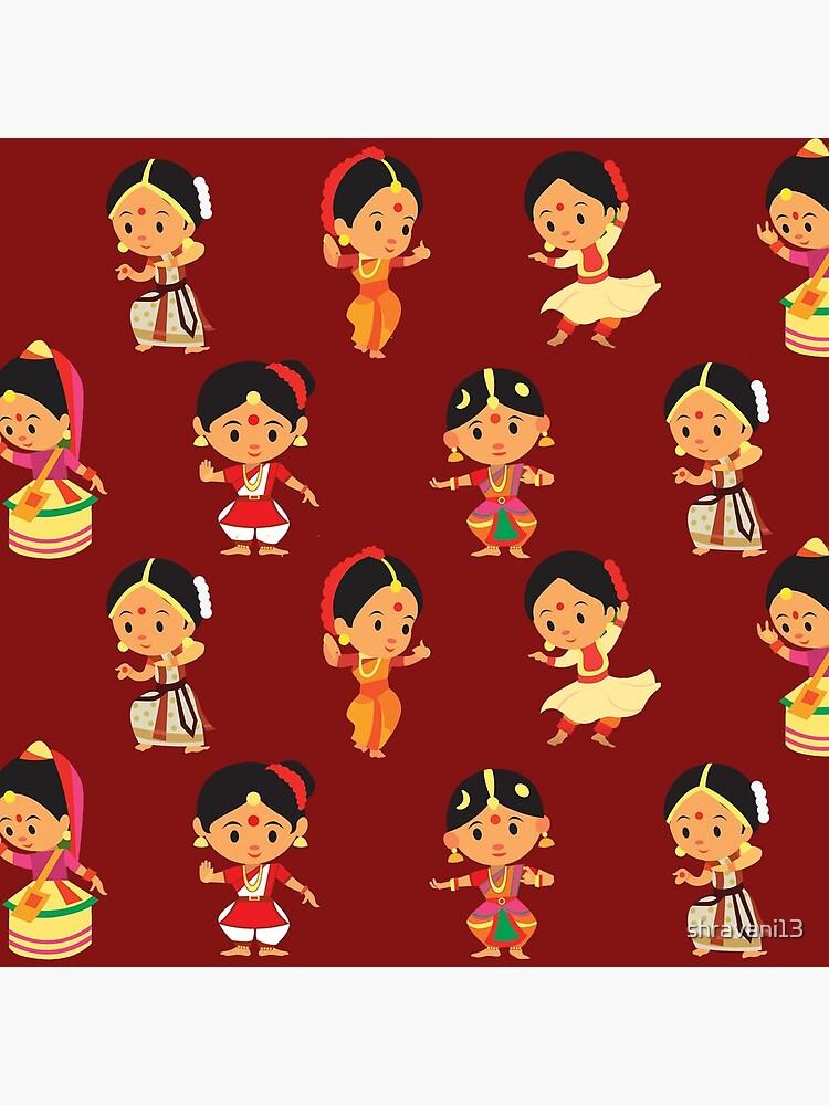 Classical Dancers Tote Bag By Shravani13 Redbubble