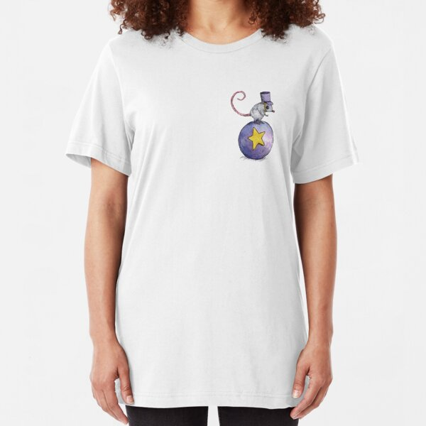 Twitchy Witchy Girl Slim Fit T-Shirt