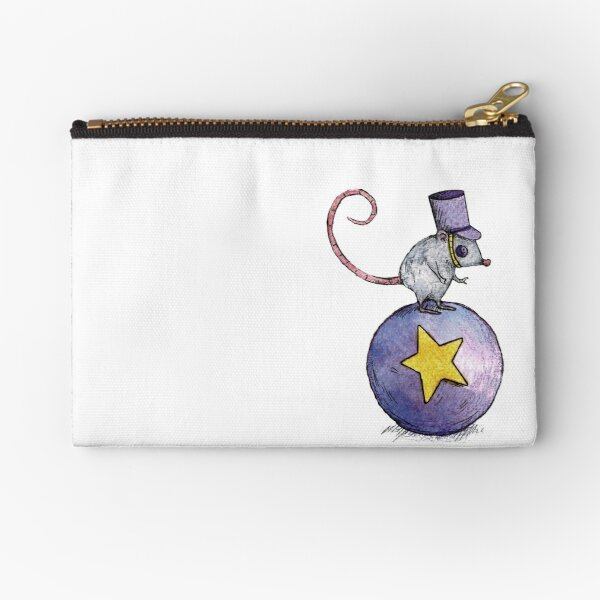 Twitchy Witchy Girl Zipper Pouch