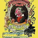 Ludwig v Beethovehen Classical Music Parody Beethoven Rooster Hen by AnimalComposers