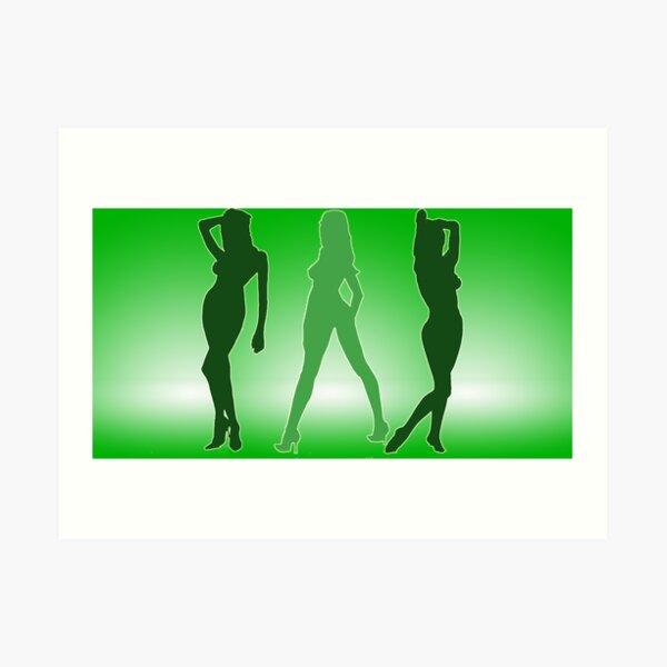 Bond Girls Art Print