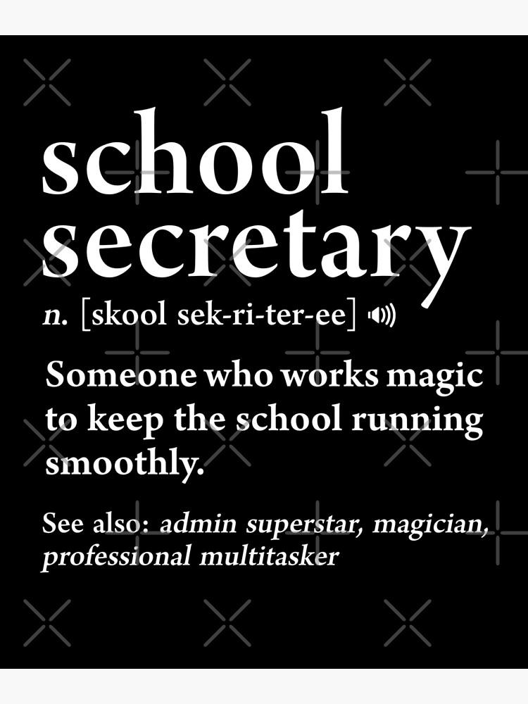 Funny Secretary Gift Office Mug School Secretary Gift Funny Secretary Mug