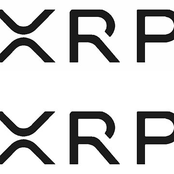 2 XRP Ripple Stickers (NEUES LOGO) by LicensedCrypto