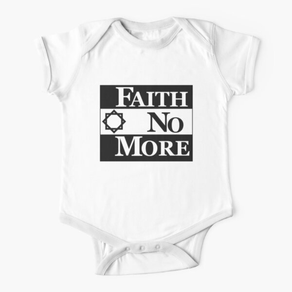 Faith No More Short Sleeve Baby One-Piece