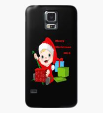 Merry Christmas 2018 Case/Skin for Samsung Galaxy