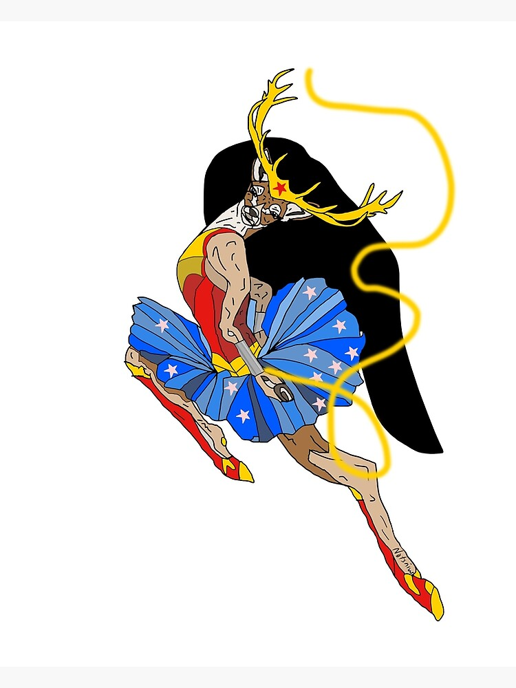 One Deer Woman by notsniwart