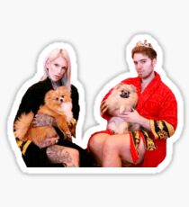 The Secret World of Jeffree Star  Sticker