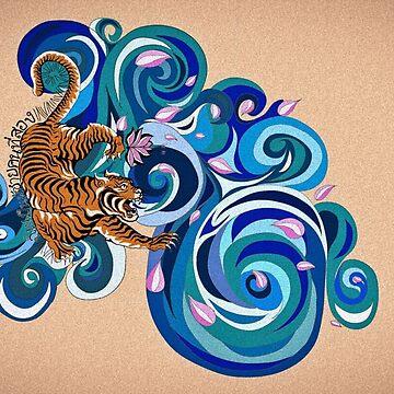 Martial Arts Tiger by Jingim24