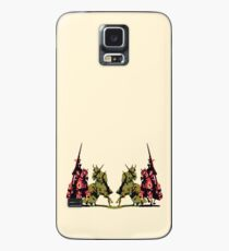 four noble knights on horseback with lance and sword Case/Skin for Samsung Galaxy