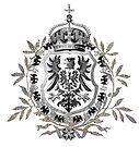 German 1871 Empire Eagle  by edsimoneit