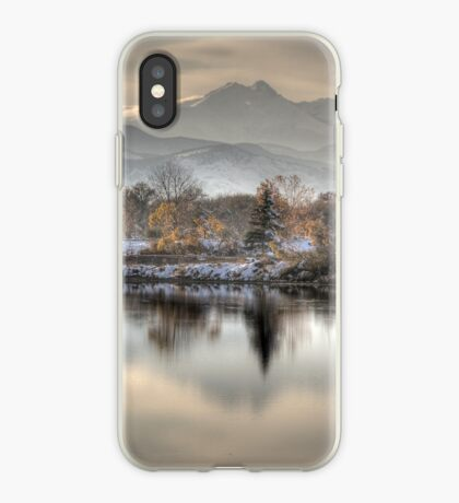 Between Fall and Winter iPhone Case