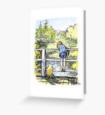 Winnie Puuh Grußkarte