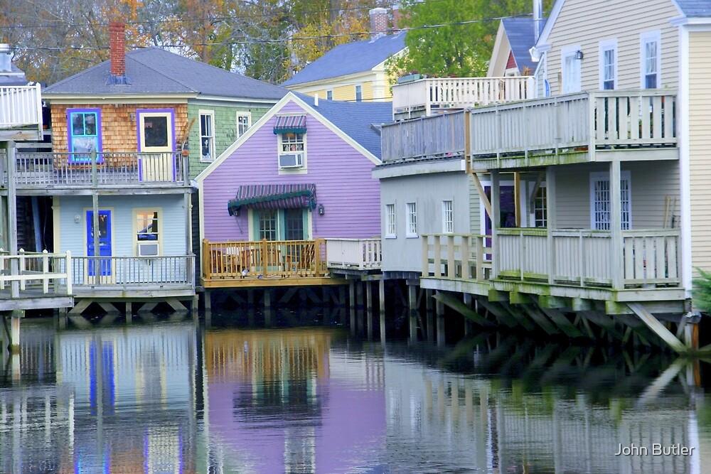 Kennebunkport, Maine by John Butler
