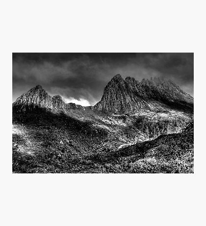 Cradle  Mountain -(Monochrome) Cradle Mountain National Park - The HDR Experience Photographic Print
