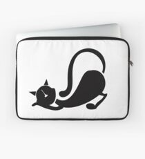 Black Pussycat Doll Laptop Sleeve