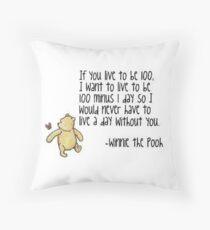 Winnie the Pooh Throw Pillow