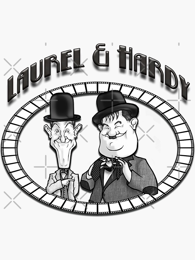 Laurel and Hardy by niblogrape