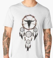 Summoning circle pentagram - Dreamcatcher Men's Premium T-Shirt