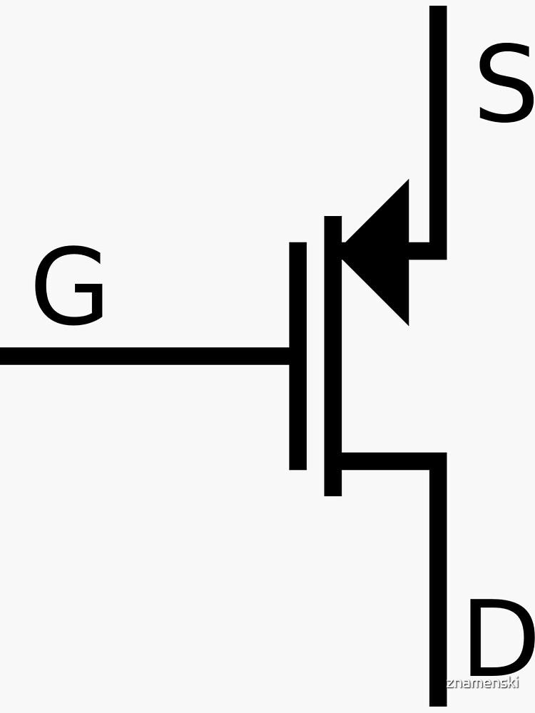 Mosfet symbol, #mosfet, #symbol, #MosfetSymbol, #SymboleMosfet by znamenski