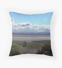 grange over sands Throw Pillow