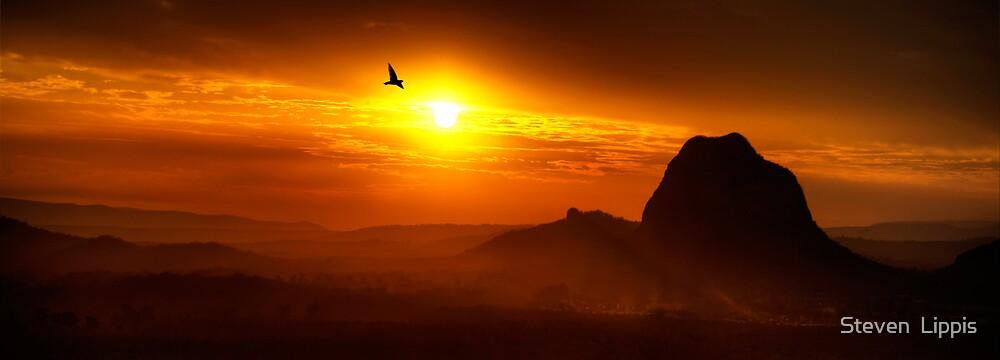 Steamy Sunset by Steven  Lippis