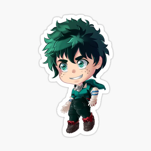 Deku Sticker