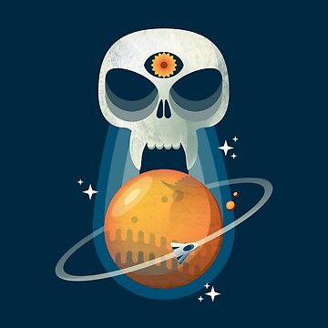 DEATH ON THE RED PLANET by JesseNickles