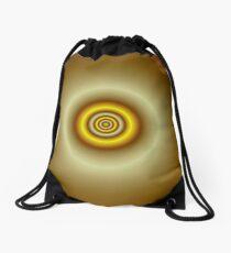 Yellow Widget Drawstring Bag