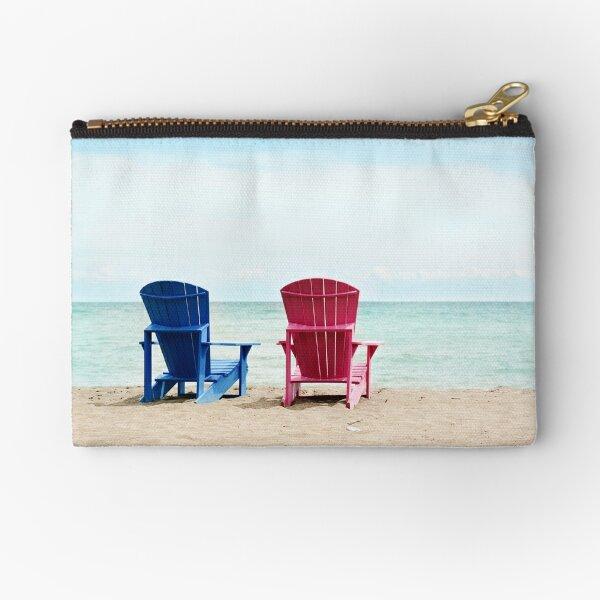 AFE Beach Chairs, Beach Photography Zipper Pouch