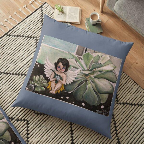 Fairy Garden  Floor Pillow