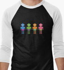 robots Men's Baseball ¾ T-Shirt