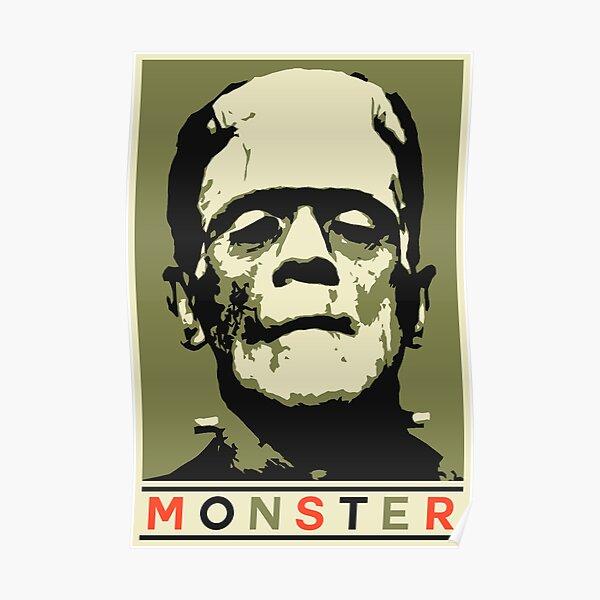 Monster (Boris Karloff - Frankenstein's Monster) Poster