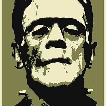 Monster (Boris Karloff - Frankenstein's Monster) by SUCHDESIGN