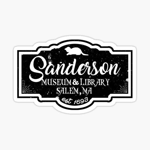 Sanderson Museum Sticker