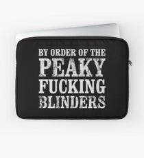 By Order of The Peaky Blinders Peaky Blinders T Shirt Laptop Sleeve