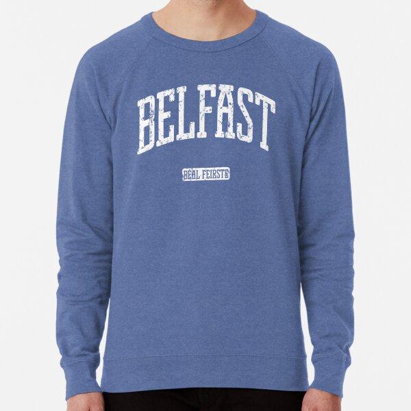 Belfast (White Print) Lightweight Sweatshirt