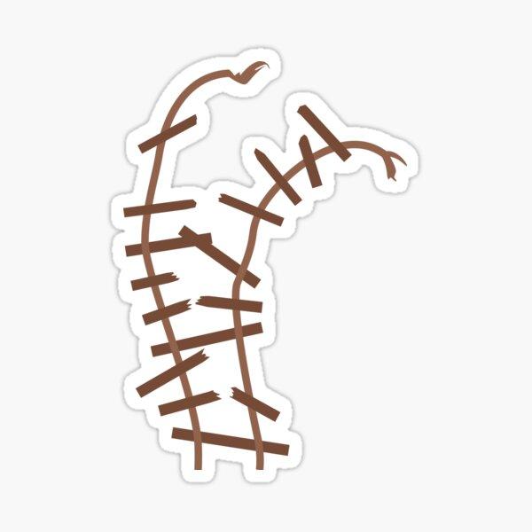 Expedition Everest Broken Track Sticker