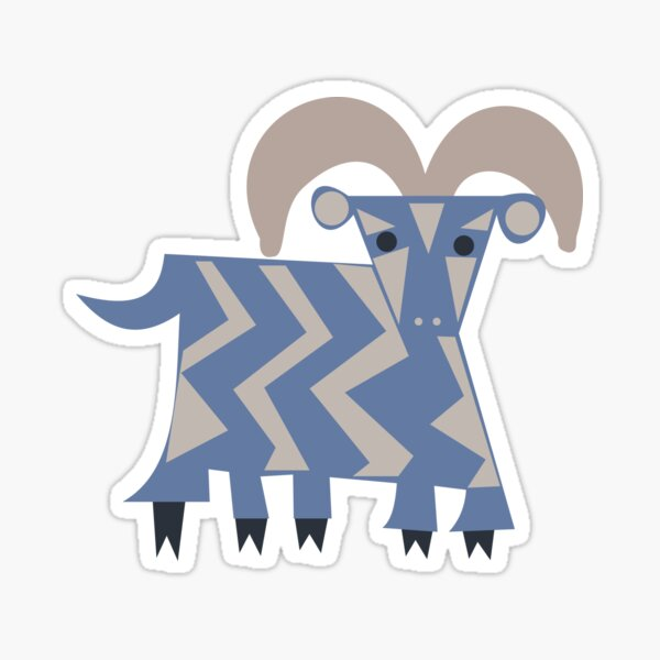 Five Legged Goat Sticker
