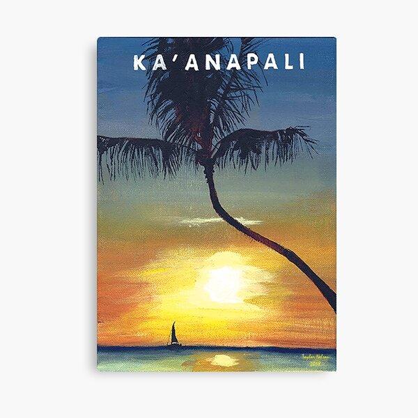 Ka'anapali, Mauai Canvas Print