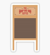 Hoop Dee Doo Revue Sticker