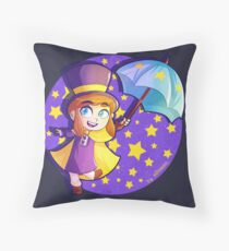 Hat Kid! - A Hat in Time Throw Pillow