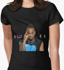 Ozuna Aura album baby  Women's Fitted T-Shirt