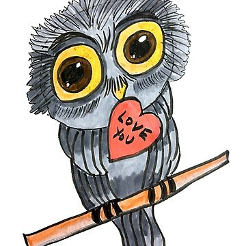Love You Owl by twinkletoes21