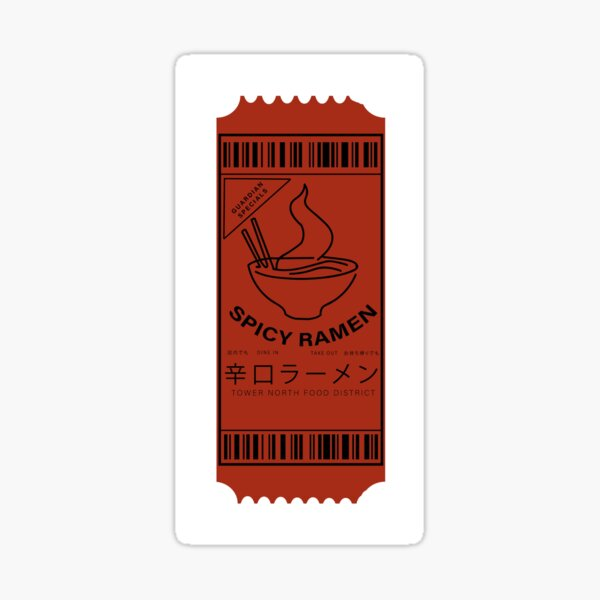Destiny 2 - Ramen Coupon Sticker