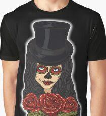 TopHat La Catrina - Dia De Los Muertos Graphic T-Shirt