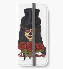 TopHat La Catrina - Dia De Los Muertos iPhone Wallet/Case/Skin