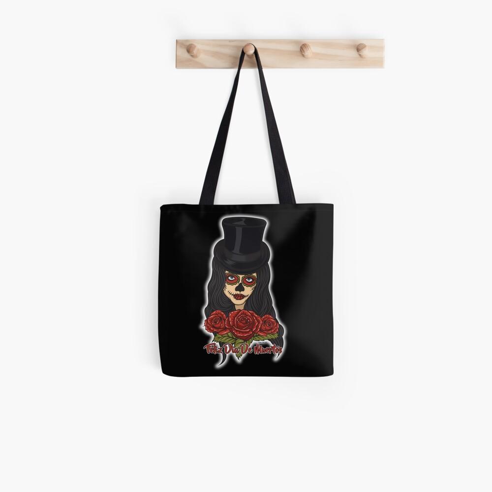 TopHat La Catrina - Dia De Los Muertos Tote Bag