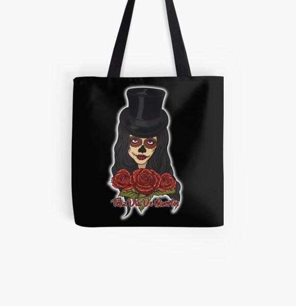 TopHat La Catrina - Dia De Los Muertos All Over Print Tote Bag