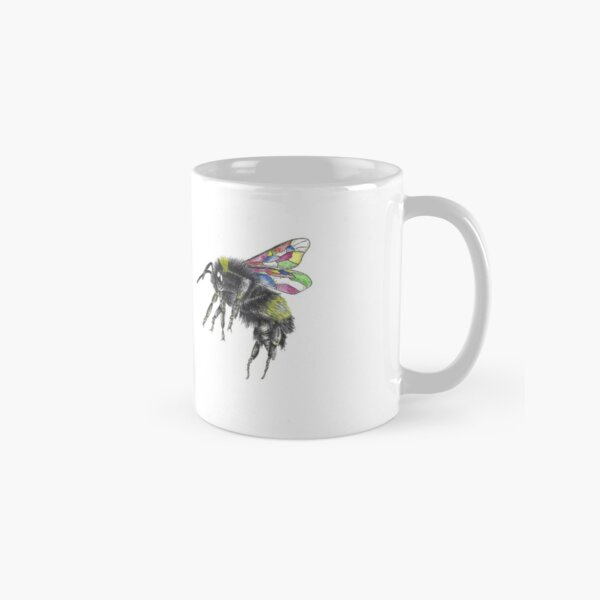 Stained Glass Wings Pair Classic Mug
